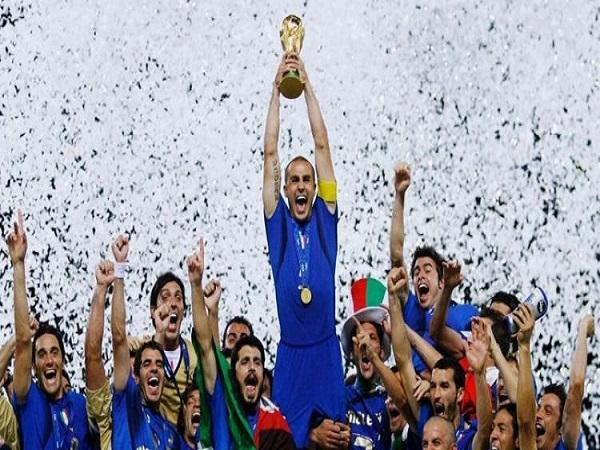 Italia vô địch world cup bao nhiêu lần?